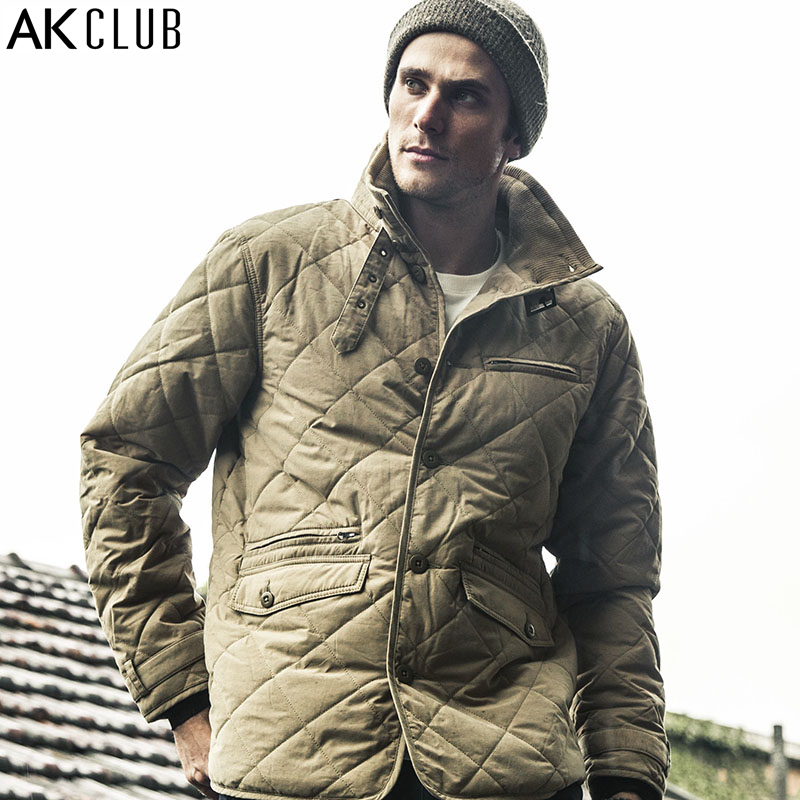 AK CLUB Brand Parka Cotton Nylon Windbreak Water Resistant Army Combat Uniform Military Style Parka Waterproof Men Parka 1510803
