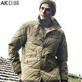 AK CLUB Brand Parka Cotton Nylon Windbreak Water Resistant Army Combat Uniform Military Style Parka Waterproof Men Parka 1510803