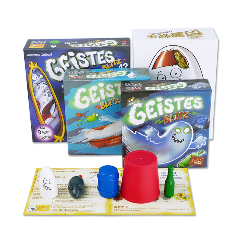 Geistes Blitz 1/2/3/4 Board Game 2-8 Players Family/Party Best Gift for Children English Instructions Cards Game Reaction Game fearsome floors board game cards games with english instructions easy to play funny game for party family gift
