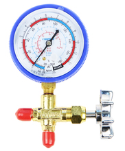 Taiwan Gome CM-466-G pressure gauge with Valves low pressure single gauge R22 Snow Meter R134 Cold medium Mete