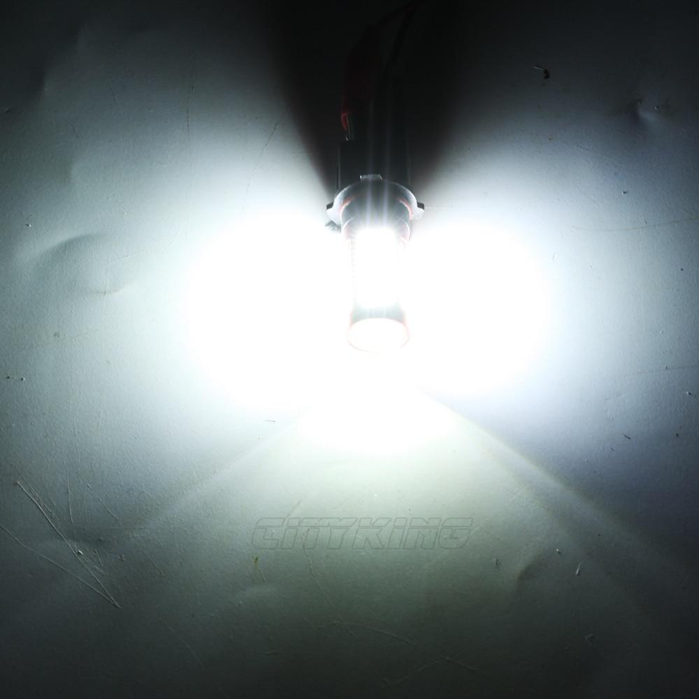 1 x baltas 106 SMD 4014 led H11 H4 H7 9005 9006 P13W led automobilio - Automobilių žibintai - Nuotrauka 6