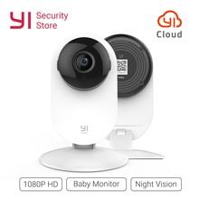 YI Home камера 1080 p беспроводной IP Wi Fi безопасности системы скрытого видеонаблюдения видеоняни и радионяни ночное видение облако международная версия (США/ЕС)