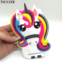 Unicorn Phone Case For Xiaomi Redmi 4A 5.0 3D Fashion Cartoon Soft Silicon Rubber Back Cover 4X 5A Fundas