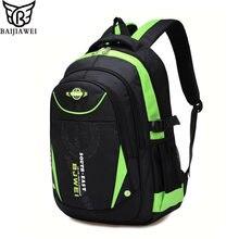 b346d34607a9 BAIJIAWEI новые детские школьные рюкзаки для девочек обувь для мальчиков  Дети непромокаемые рюкзак в рюкзак для