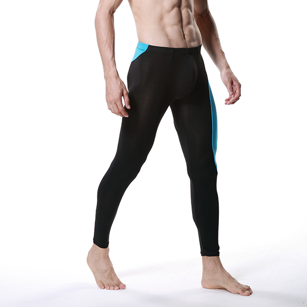 Low Rise Trousers Underwear Legging Shorts Sport Men Modal Long Thermal Pants