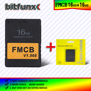 Image 3 - Bitfunx FMCB Free McBoot Memory Card 16MB  v1.966 in new version &new function+8/16/64/128MB memory card pack
