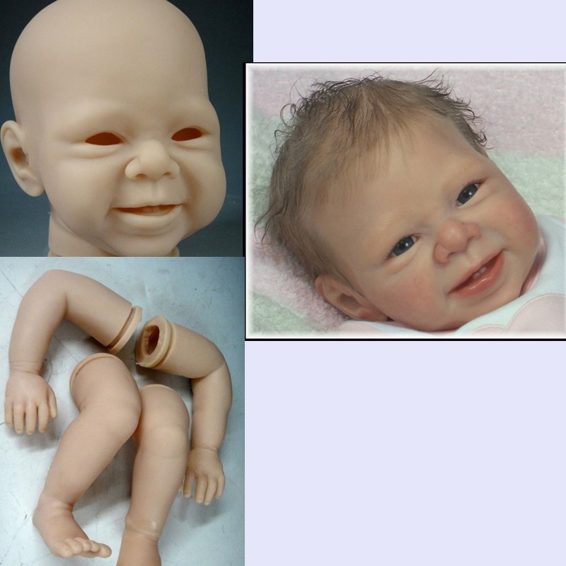 diy reborn doll kits cheap unpainted doll part limited edidtion lifelike soft silicone vinyl wholesale DIY blank kit Accessories плита endever skyline ip 44