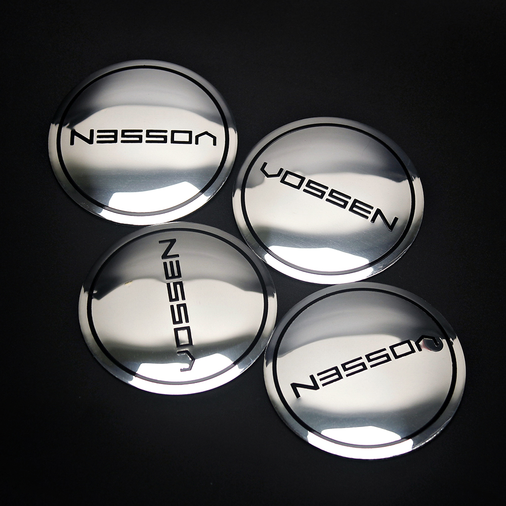 56mm Vossen Rim Cover Logo Sticker Auto Wheel Center Hub Caps Accessories For Volkswagen Passat Ford Chevrolet Renault Kia Subar ...