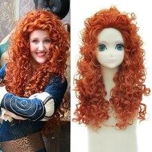 Brave Merida Wig 55cm 21.65