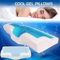 50*30cm Memory Foam Cool Gel Pillow Summer Ice cool Anti Snoring Neck Pillows Sleep Pillow Cushion+Pillowcover Home Beddings