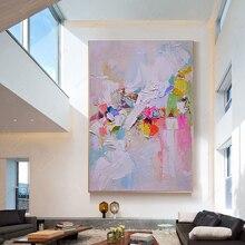 Ручная роспись, холст, масляная живопись, абстрактная настенная живопись, абстрактные картины для гостиной, настенные, laminas de cuadros pared decorativas