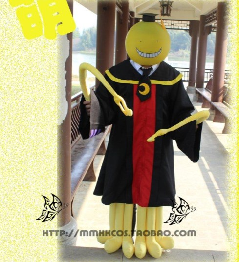 Assassinat classe Korosensei Costume Cosplay