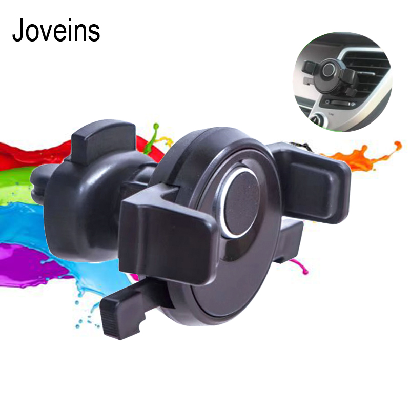 JOVEINS Car Phone Holder for iPhone 8 X 7 Air Vent Mount Holder Stand 360 Rotation Mobile Phone Stand for Samsung Xiaomi Stand