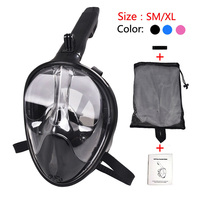 Diving Mask Full Face Anti fog Snorkeling Mask Scuba Swimming Mask for Children/Adult Diving Goggles Training Dive Equipment