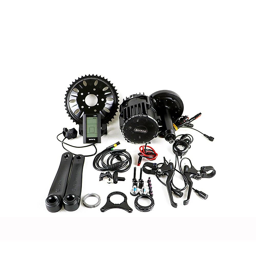 Bafang moteur de vélo électrique BBSHD03 48 V 1000 W 8fun/bafang moteur BBSHD03 moteur à manivelle moyenne avec affichage couleur neige gros vélo