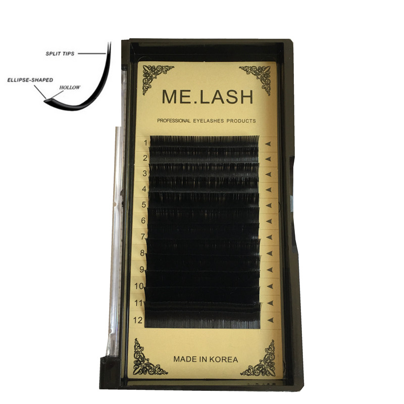 ME.LASH Wholesale 20 Trays/lot Elliptical Flat Lashes Fake