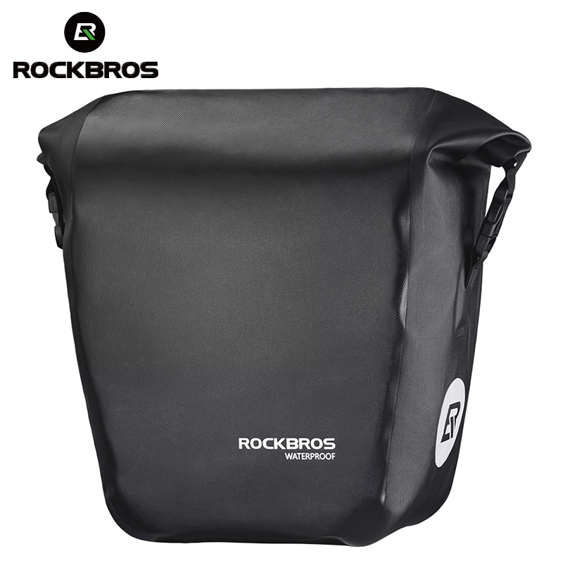 ROCKBROS Cycling Backpack Outdoor Portable Folding Water Resistant Bag Red 18L