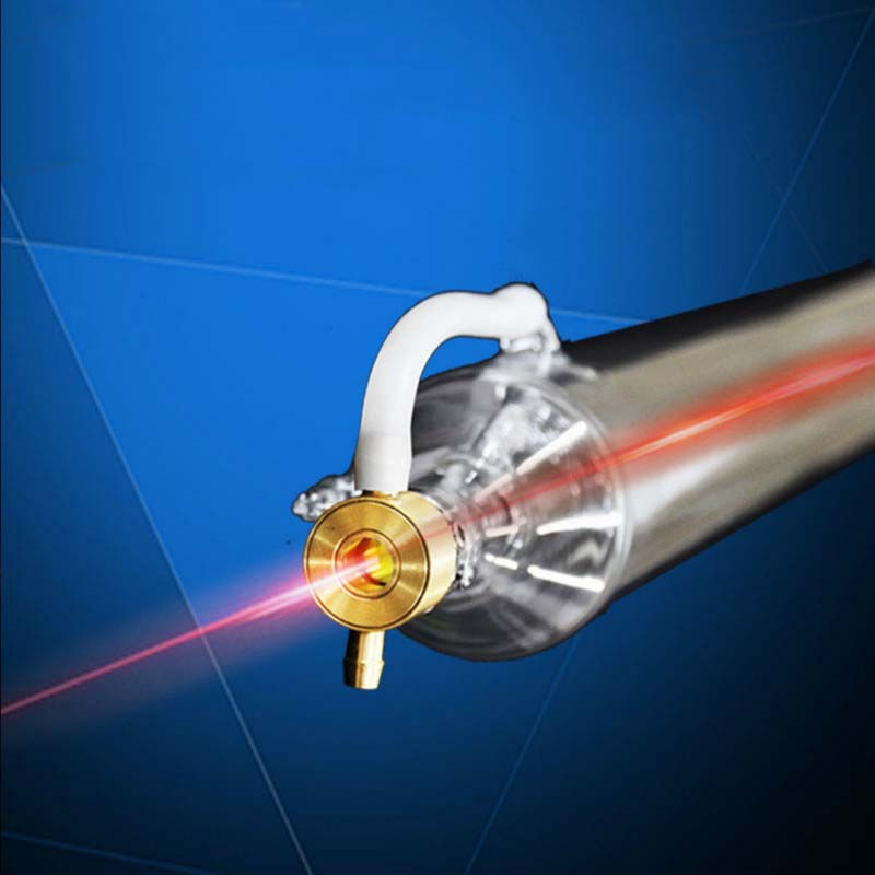 Universal 40W CO2 Laser Tube 700MM Glass Laser Lamp For CO2 Laser Cutting Engraving Machine