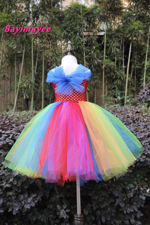 Hermosa Vestidos De Novia De Colores Del Arco Iris Ornamento - Ideas ...