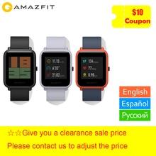 Xiaomi Huami Amazfit Bip умные часы gps Gloness Smartwatch умные часы 45 дней в режиме ожидания для телефона MI8 IOS
