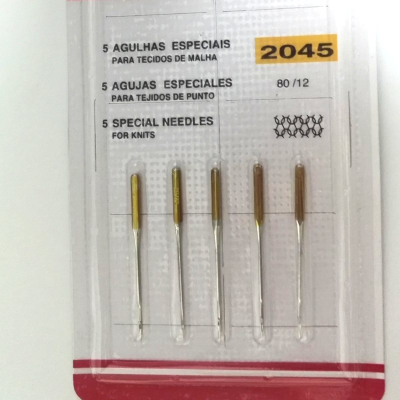 Sewing Needles Pins gold tails 5pcs packing for Domestic or multi functional Sewing Machine for Brother Toyota Singer Janome