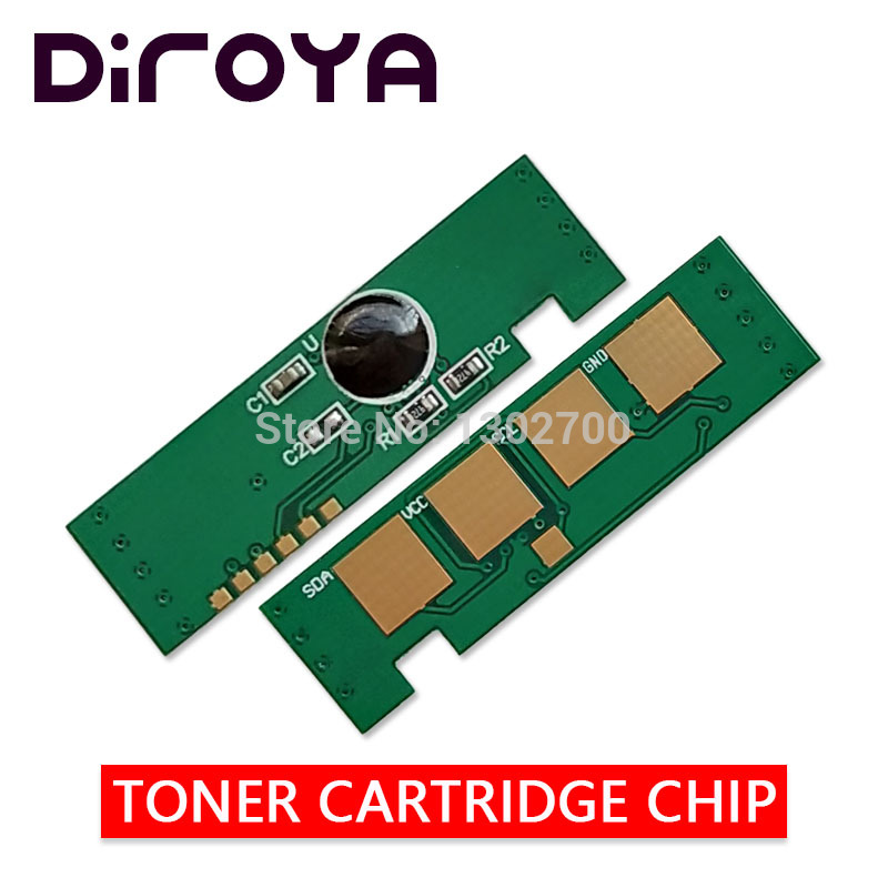 clt-406s 406 clt-k406s Toner Cartridge chip for samsung CLP 360 365 C410W C460W C460FW CLX 3305 clx-3305fw powder refill reset mlt d106 toner chip used for samsung ml2245 chn kor exp eur cartridge chip