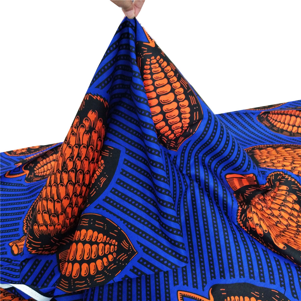 Dutch Ankara wax African Wax Prints Fabric African Wrapper printed pattern 100 cotton material in Fabric from Home Garden
