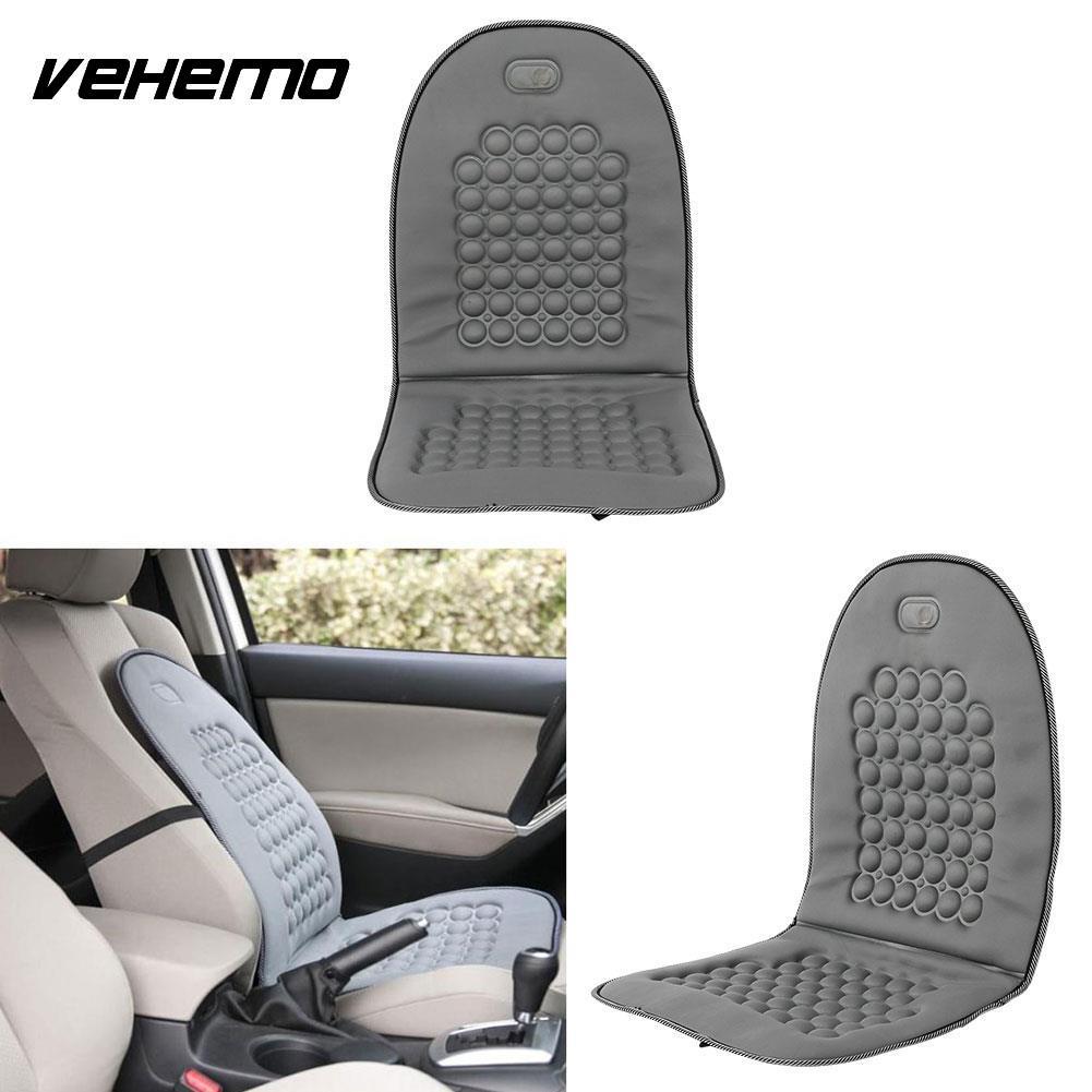 Vehemo Магнитная автомобиль пузырь Бусины сиденье Чехлы для подушек массаж офис серый