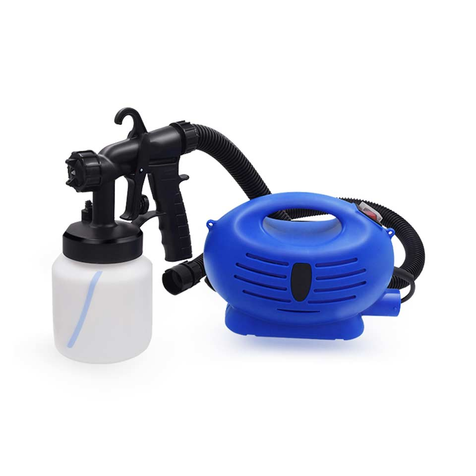 цена на Electric Paint Spray Gun air Compressor Professional Airbrush HVLP For Paint Automotive Airless Sprayer Paint Pistol Power Tool