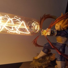 Dragon Ball Z Vegeta Super Saiyan Led Light Lamp