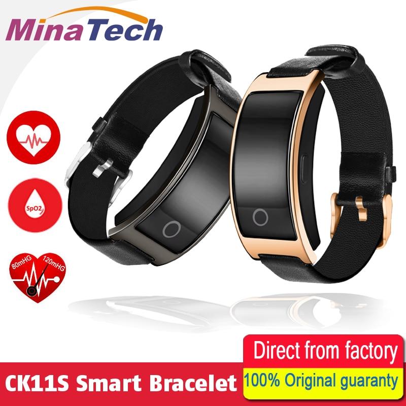 CK11S Smart Band Blutdruck Pulsmesser Armbanduhr Intelligente Armband Fitness Armband Tracker Schrittzähler Armband