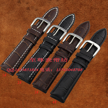 watch strap18mm 19mm 20mm 22mm 24mm 25mm 26mm WatchBand Black Brown genuine leather Watch Bracelet for