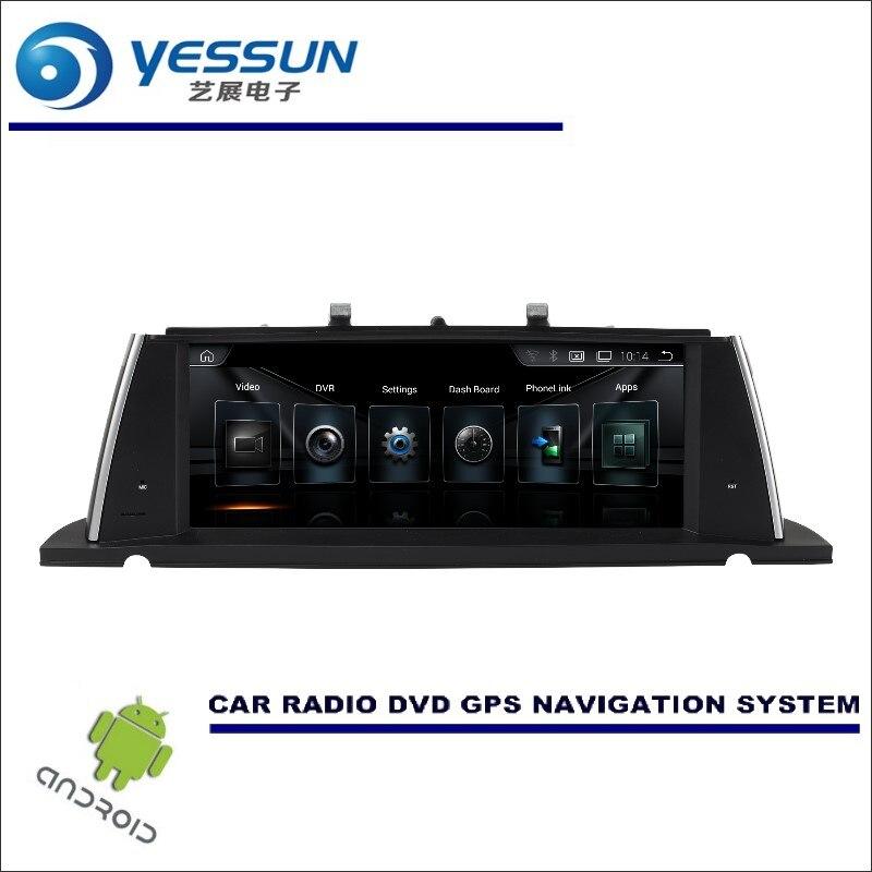 YESSUN 10 дюймов HD экран для BMW 5 серии F07 GT 2013 ~ 2017 Стерео Аудио Видео плеер gps навигации мультимедиа (без CD DVD