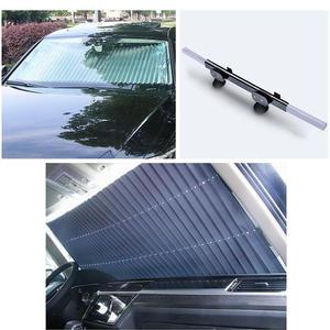 Window Sunshade Curtain Cover-Shield Retractable Foldable Car Anti-Uv