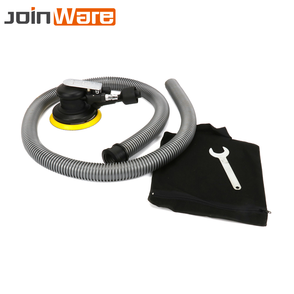 5 Inches Pneumatic Sanders 125MM Pneumatic Sanding Machine Air Eccentric Orbital Sander For Air Car Polishing Tools Hot Sale 5 inches mini pneumatic air sander 9500rpm car polisher sandpaper grinding sanding polishing machine power tools