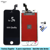 Mobymax LCD Display For IPhone 5S LCD Touch Screen Digitizer Lcd Display Replacement Assembly A1533 A1457