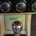 Botão Da Engrenagem Do Carro Universal 5 Speed Manual LEVOU 5MT 6MT Auto Alavanca de Câmbio