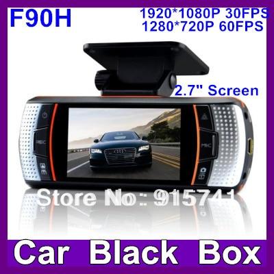 2014 Newest F90G H.264  Car DVR  G-Sensor Novatek 96650 Full HD 1920*1080P 30FPS/2.7' LCD Car DVR Recorde super r  Night vision