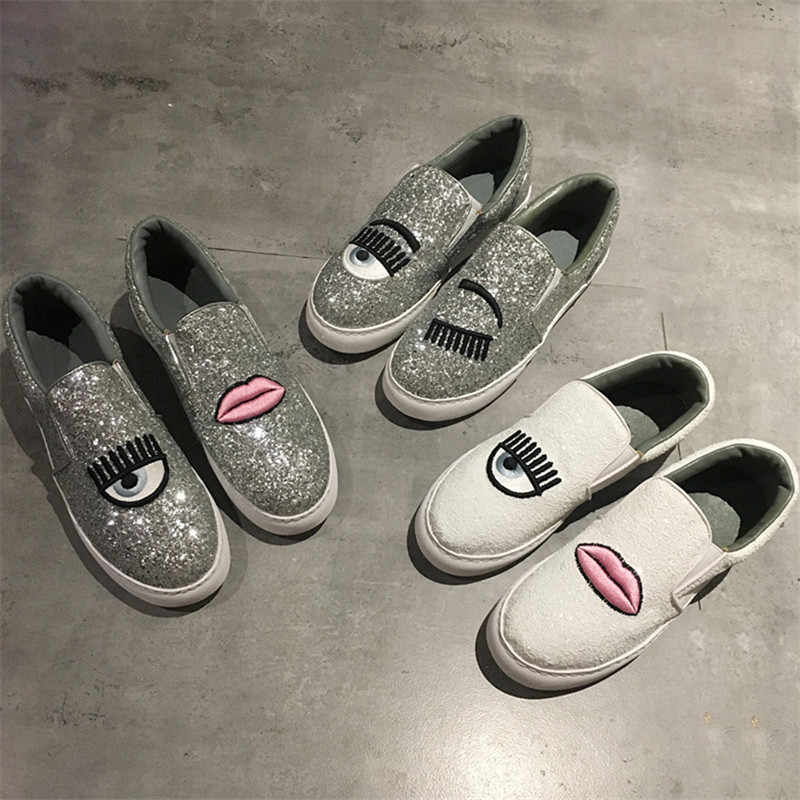 f802998430 Detail Feedback Questions about Heart Sneakers Women Shoes Flats ...