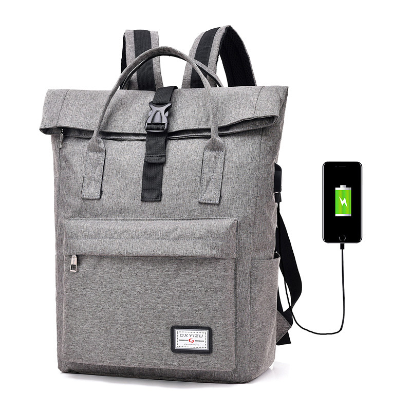 Fashion Men Multifunction Backpack Anti Theft USB Charging Laptop Women Notebook  Bag College School Bags Travel Backpack