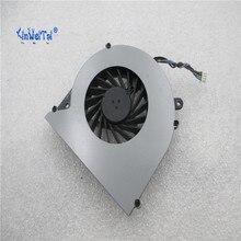 พัดลมระบายความร้อนสำหรับ Toshiba C850 T03B T05B TOSHIBA L850 L850D C855 C855D แล็ปท็อป KSB0505HB BK48 4pin V000270070 6033B0028701