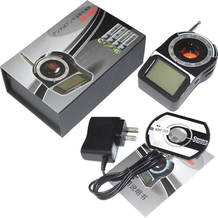GPS GSM Signal WIFI G4 RF Tracker caméra cachée détecteur de bogue détecteur Anti-espion détecteur de caméra candide