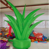 Giant green inflatable plant inflatable seedling for party decoration