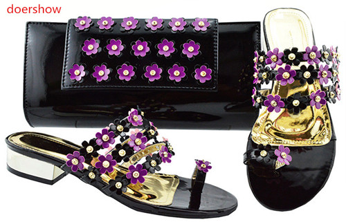 doershow  nice purple Shoe And Bag Set African Wedding Shoe And Bag Sets Italy Women Shoe And Bag To Match For wedding!BF1-9doershow  nice purple Shoe And Bag Set African Wedding Shoe And Bag Sets Italy Women Shoe And Bag To Match For wedding!BF1-9