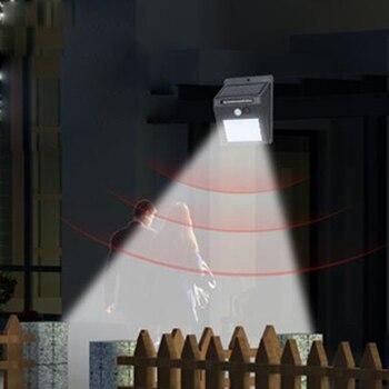 LED lampe solaire extérieure lampes LED solaires/projecteurs extérieur étanche mur lampes solaires/lampe pour décoration de jardin 20/25/35 LED
