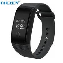 Frezen A09 Bluetooth Smart Браслет монитор сердечного ритма крови Давление Монитор кислорода IP67 Водонепроницаемый фитнес-часы PK mi Группа 2