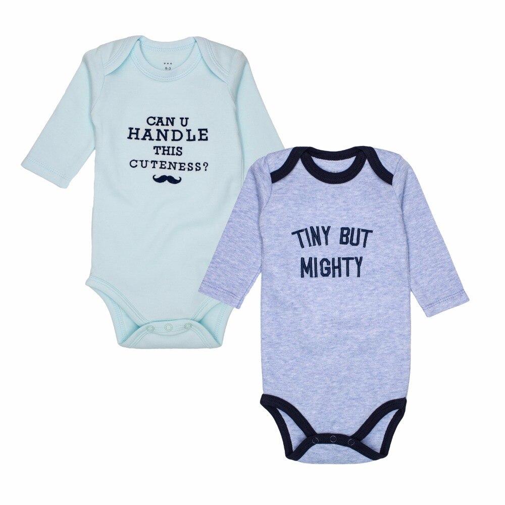 Noworodek chłopców Ubrania 100% bawełna Dziecko z długim rękawem - Odzież dla niemowląt - Zdjęcie 2