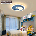 Qiseyuncai детская комната светодиодный потолочный светильник простой современный креативный мультфильм Пингвин Дельфин мальчик девочка спал...