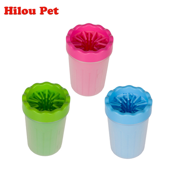 Pet Foot Washer Cup Dog Foot Wash Tools Soft Gentle Silicone Bristles Pet Brush Quickly Clean Paws Muddy Feet Large Dog