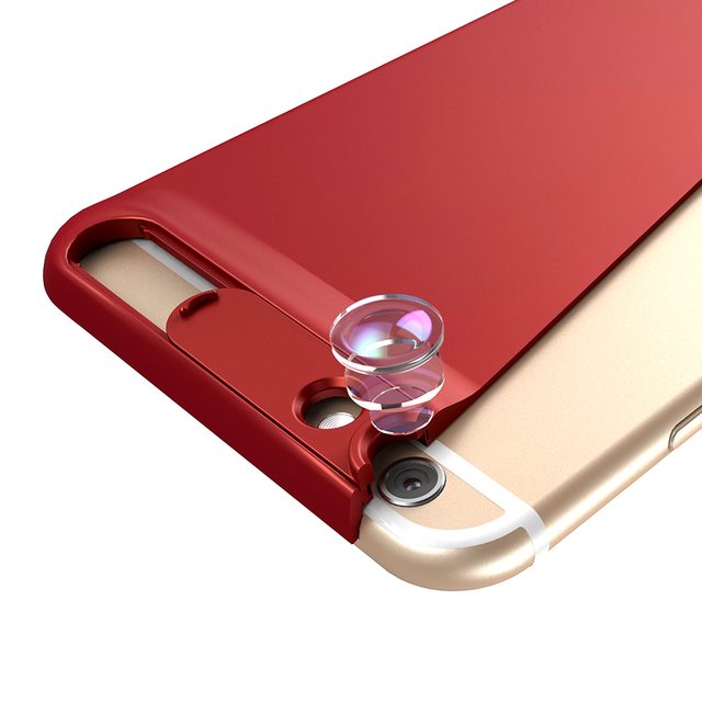 APEXEL New 10X super macro lens micro phone camera lens kit with back case For iPhone 6 6s plus 7/8 2